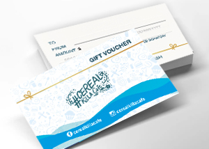 Gift Voucher at Cereal Killa